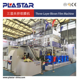 Sg-3L1000 Three Layers Co Extrusion Film Blowing Machine with IBC System pictures & photos
