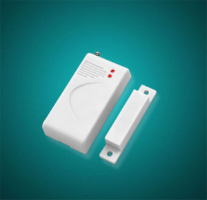 Battery Operated Wireless Magnetic Door Contact Alarm Reed Switch Sensor pictures & photos