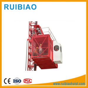 Double Cage Building Hoist Construction Hoist pictures & photos