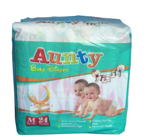 Designer Baby Diaper with High Absorption for Baby Goods pictures & photos