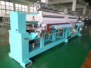 High Speed 42-Head Quilting Embroidery Machine pictures & photos