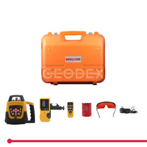 200hv Rotation Laser Level 360 Line Laser with Dry Battery Pack & Setting Slope Function pictures & photos