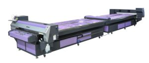 Very Stable Flat-Bed Inkjet Printer for Textile Pigment Ink Direct Printing pictures & photos