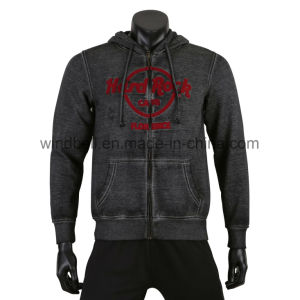 Comfortable Hoody for Men with Dirty Wash pictures & photos