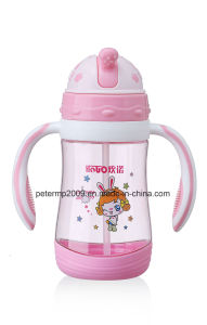380ml Modern New Products Unique School Kids Water Bottle, Pink Color Water Bottle pictures & photos