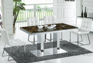 Hotel Furniture Simple Style Modern Dining Table (A6002)