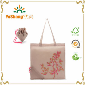 Custom Strawberry Closing Style Foldable Shopping Bag Promotional Gifts Tote Bag pictures & photos