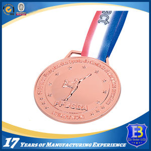 Gold Medal with Customer 3D Logo Engraving pictures & photos