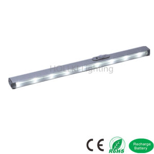 Sensor LED Cabinet Light or Wardrobe Light with Lithium Battery pictures & photos