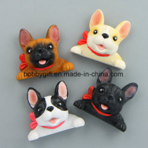 Custom Cute Doggy Resin Fridge Magnet for Sale pictures & photos