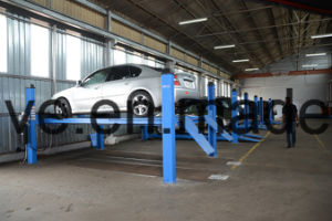 4 Post Wheel Alignment Lift AA-4p35wa pictures & photos
