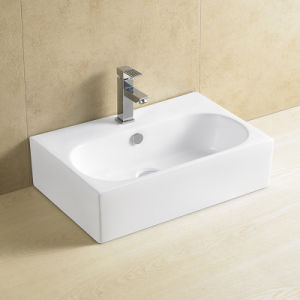 Ovs Art Ceramic Wash Basin Made in Foshan Sanitary Ware Trough pictures & photos