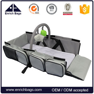 Enrich Wholesale 3 in 1 Diaper Bag, Portable Baby Travel Diaper Bag with Changing Pad pictures & photos