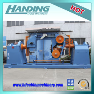 Aluminum Alloy Roller Foaming Double Twist Bunching Machine for Wire Production Line pictures & photos