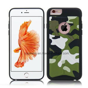 High Quality Camouflage Pattern Deformable Holder Anti Fall Phone Case for iPhone 6/6s/6 Plus