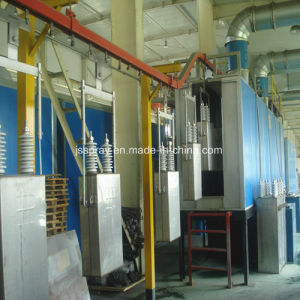 Automatic Paint Production Line with Baking Room