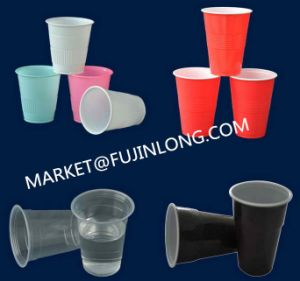 Jelly Cup Plastic Thermoforming Machine pictures & photos