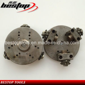 "5"" Diamond Bush Hammer Plate M14 Connection for Stone Grinding pictures & photos"