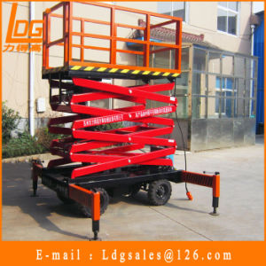 1ton 6m Hydraulic Scissor Elevator Lift (SJY1-6) pictures & photos