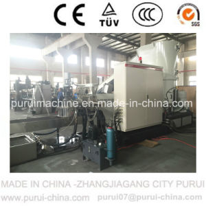Waste PE Film Plastic Recycling Pelletizer with Agglomerator (PURUI) pictures & photos
