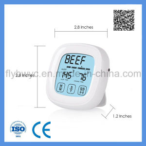 Digital Meat Thermometer for Cooking Kitchen BBQ Oven with Timer pictures & photos