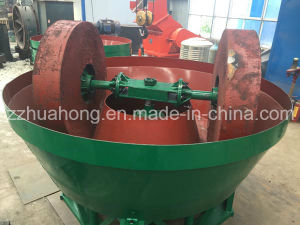 Wet Pan Mill Machine for Mineral Gold Grinding Professional Supplier pictures & photos