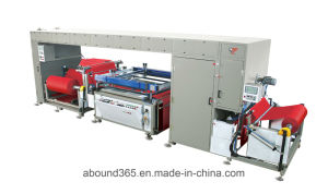 Auto Non-Woven Fabric Roll to Roll Screen Printing Machine for Plastic Bag pictures & photos