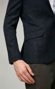 Custom Woolen Blend Men Jacket Blazer pictures & photos