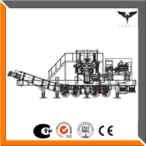 Crushing Stone Impact Mobile Crushing Plant with Screen Feeder pictures & photos