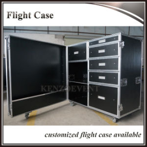 Good Price Customized Aluminum Flight Case with Drawers pictures & photos