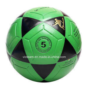 Green Conventional Scuff-Resistant No. 5 Football pictures & photos