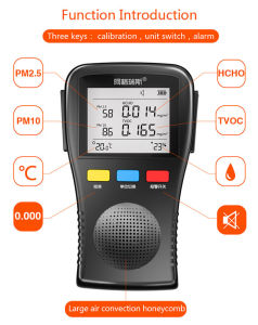 Multifunctional Particle Counter Air Detector for Formaldehyde Tvoc Pm2.5 pictures & photos