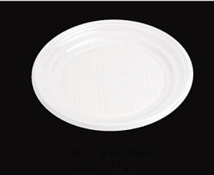 "Round Soft Plastic Party Plate 8"" pictures & photos"