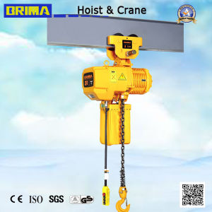 3ton High Quality Brima Electric Chain Hoist with Electric Trolley pictures & photos