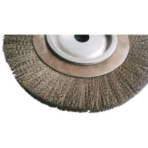 Crimped Bench Wire Wheel for Polishing pictures & photos
