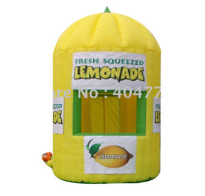 Cheap Inflatable Lemon Kiosks Booth pictures & photos