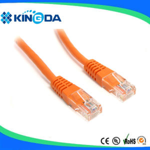 UTP CAT6 cat. 6 patch cord cable LSZH CU 2M pictures & photos