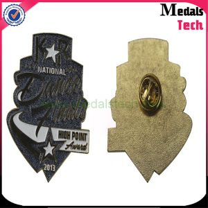 Factory Custom Brass Sun Star Shape Office Police Lapel Pins pictures & photos