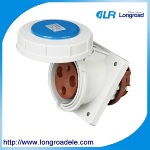 IP67 3p 63A High-Ending Industrial Socket / Connector pictures & photos