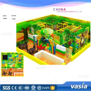 Space Theme Custom Size Indoor Trampoline Park/Kids Soft Indoor Playground Equipment pictures & photos