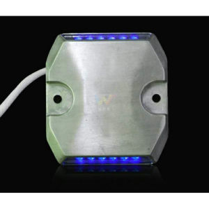 Road Safety Tunnel Wired Blue Light LED Road Stud pictures & photos