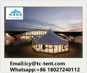 Outdoor 3mx3m, 4mx4m, 5mx5m Aluminum PVC Pagoda Canopy Gazebo Tent for Party Wedding pictures & photos