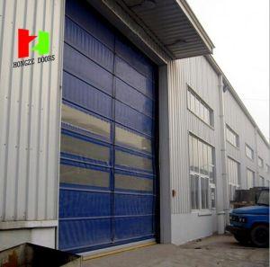 Soft Curtain Electric Roll up Door Exterior Waterproof Fast Speed Rolling Door (Hz-FC04120) pictures & photos