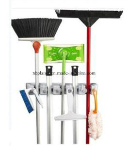 Plastic Mop & Broom Cleaning Tools Holder pictures & photos