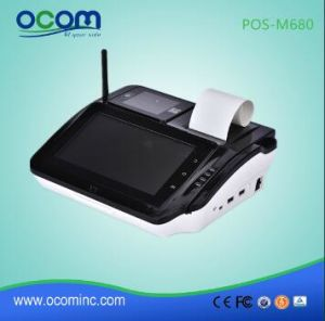 POS-M680 7 Inch Android 4.0 POS Payment Terminal with Printer, Scanner, Card Reader NFC pictures & photos