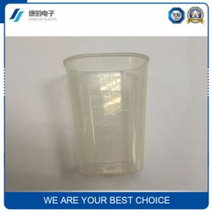 Manufacturers Custom Wholesale Logo Transparent Glass Transparent Office Cup Gift Cups Scale Cup pictures & photos