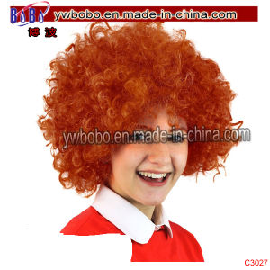 Kids Afro Wig Birthday Novelty Party Supplies (C3027) pictures & photos