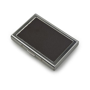 Custom PU & Metal Business Name Card Case pictures & photos