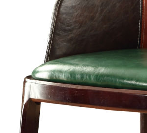 Home Leather Furniture Leisure Chair with Armrest pictures & photos