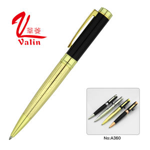 Luxury Metal Writing Pen Laser Engraved Logo Pen on Sell pictures & photos